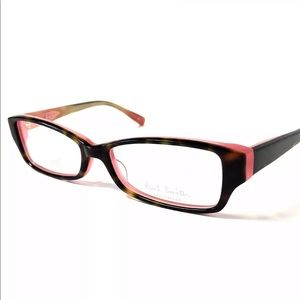 Paul Smith Eyeglasses Tortoise Pink New